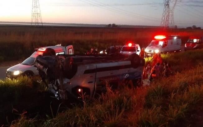 Acidente aconteceu no município de Bacabeira, no Maranhão.
