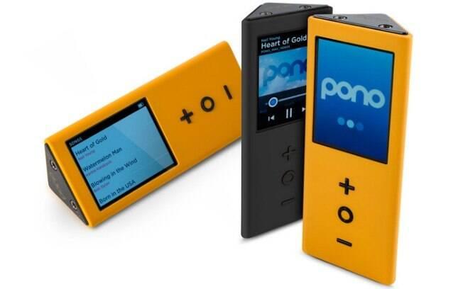 Pono é player de música digital de alta definição criado pelo músico canadense Neil Young