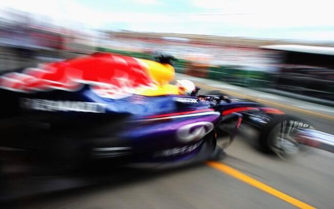 Vettel foi o mais rápido nos primeiros  treinos livres da F1 na temporada