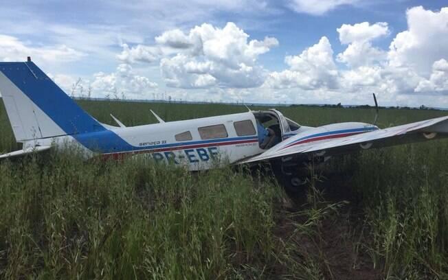 Aeronave com cocaína foi classificada como suspeita, após não responder o contato do piloto de defesa da FAB