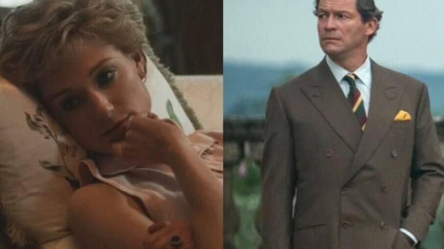 Diana e Charles mais velhos em The Crown