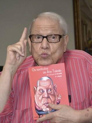 Ary Toledo diz que o riso é o seu oxigênio