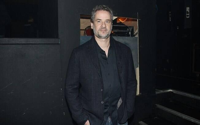 Dan Stulbach durante evento em São Paulo