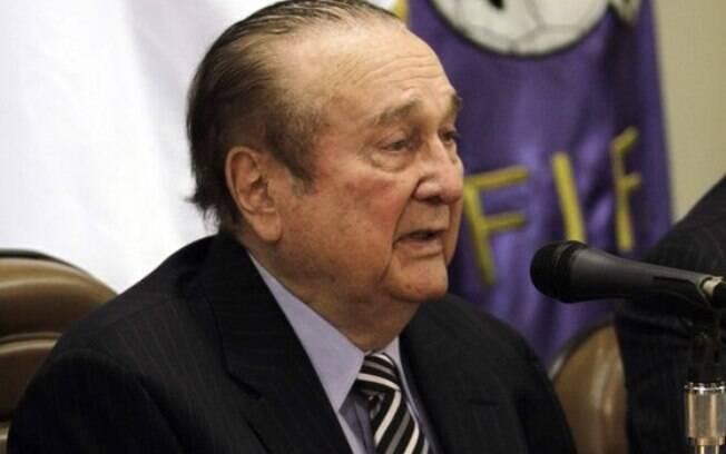 Nicolás Leoz foi presidente da Conmebol entre 1986 e 2913, justamente no período que houve desvios dos cofres da entidade