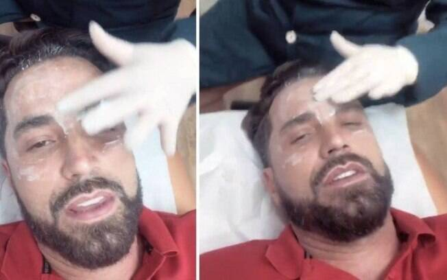 Latino faz aplicação de botox em clinica de estética em São Paulo