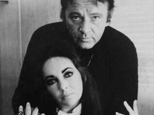Elizabeth Taylor e Richard Burton: romance conturbado