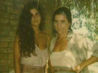 Cristiana Oliveira e Cássia Kiss há 24 anos