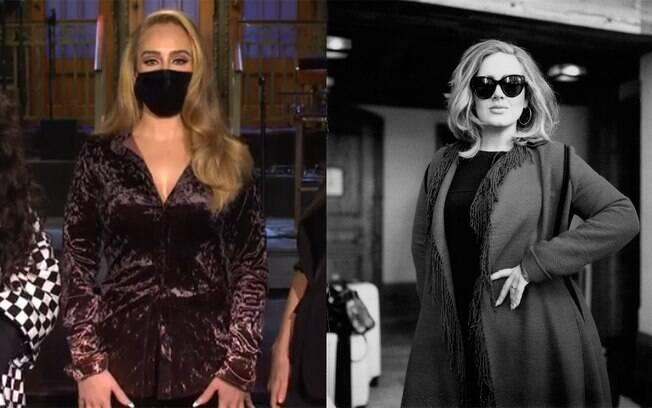 Adele aparece mais magra em um vídeo e fãs elogiam