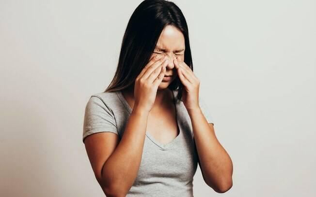 Sinusite pode causar bastante incômodo