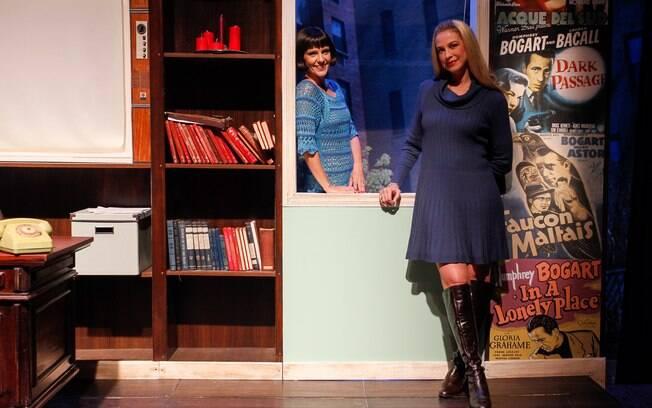 Mais um clique das meninas prontas no palco de 'Sonhos de um Sedutor'