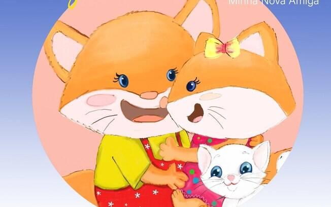 Capa do livro infantil da atriz Edna Freeman