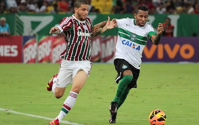 83a926c03f Fluminense e Coritiba ficam no empate no Maracanã e veem G4 ficar ...