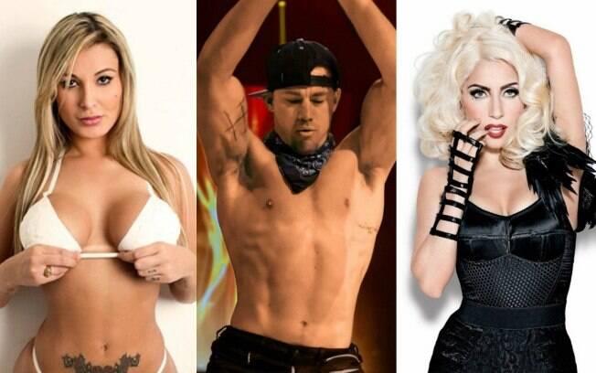 Confira os famosos que já foram strippers