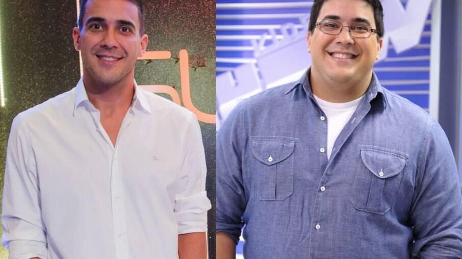 André Marques antes e depois da bariátrica