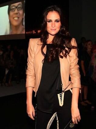 Priscila contou que pretende fazer faculdade de jornalismo depois que passar a faixa de Miss Brasil no meio deste ano