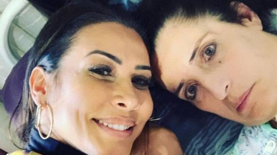 Scheila Carvalho desabafa após morte de irmã