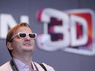 Óculos e televisores 3D são necessários para assistir à programação de TV 3D na China