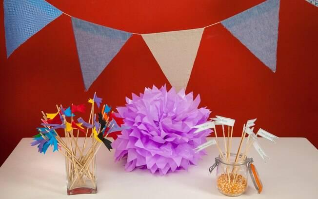 Itens são fáceis de se fazer e deixam a decoração mais personalizada