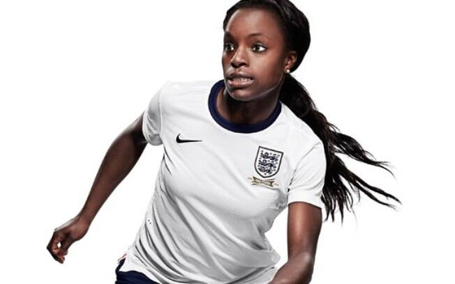 Eni Aluko jogou 102 partidas pela seleção inglesa