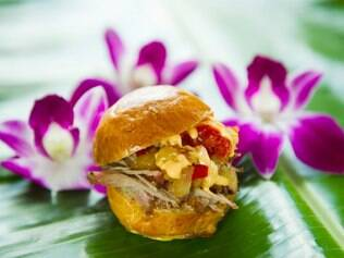 Churrasco do Havaí, que será novamente apresentado no festival gastronômico do Epcot