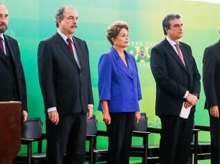 Presidente Dilma Rousseff durante cerimônia de lançamento do Pacote Anticorrupção