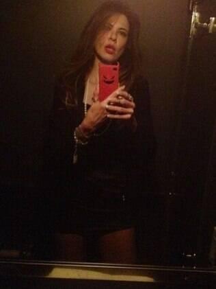 Luciana Gimenez: réveillon em Nova York