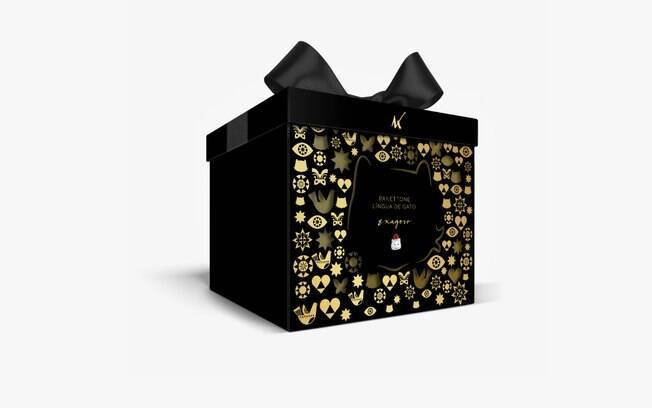 O panetone Exagero é um dos lançamentos mais chocolatudos da Kopenhagen