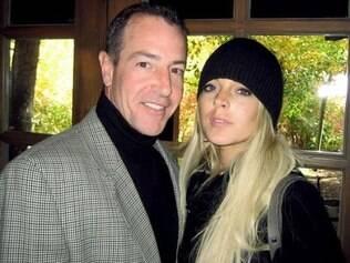Lindsay Lohan com o pai Michael Lohan