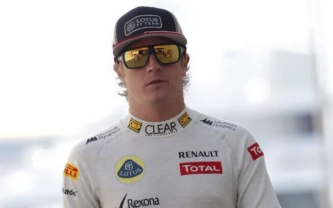 Lotus - Kimi Raikkonen - foi campeão em 2007,  ficou longe da categoria e voltou para a Lotus no  ano passado