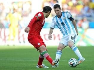 MG - COPA DO MUNDO/ ARGENTINA X IRA  - ESPORTES : BELO HORIZONTE - MINEIRAO - MG - COPA DO MUNDO / ARGENTINA X IRA -  Partda valida pela 2 rodada da Copa do Mundo 2014 ,  entre as equipes da Argentina e Ira , no Mneirao MG . ARAGENTINA X IRA.  FOTOS: LEO FONTES / O TEMPO / 21.06.2014