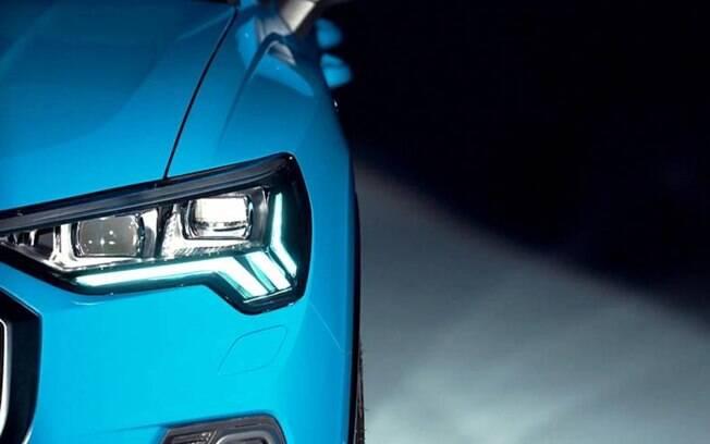 Novo Audi Q3 terá desenho mais arrojado que a atual geração, com visual mais comportado