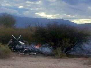 Acidente com dois helicópteros que matou 10 pessoas na segunda-feira (9) na Argentina