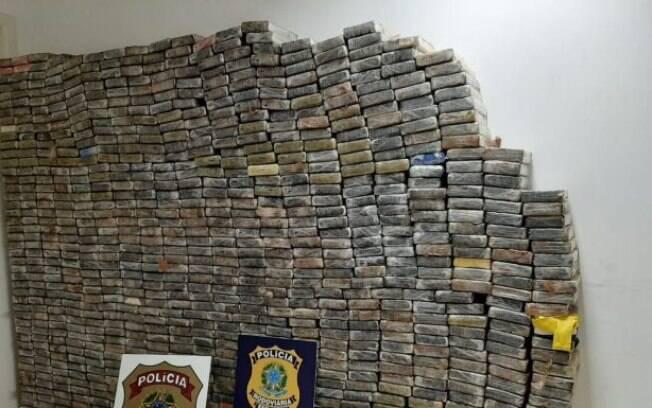 Quase uma tonelada de cocaína foi apreendida em São José dos Pinhais, região metropolitana de Curitiba