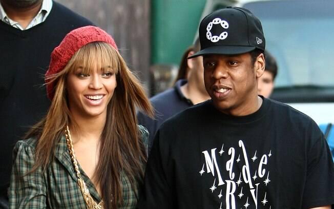 12 ANOS: Beyonce (31 anos) e Jay Z (43). Foto: SplashNews