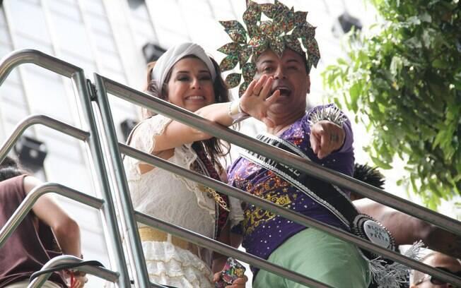 Fernanda Paes Leme e David Brazil