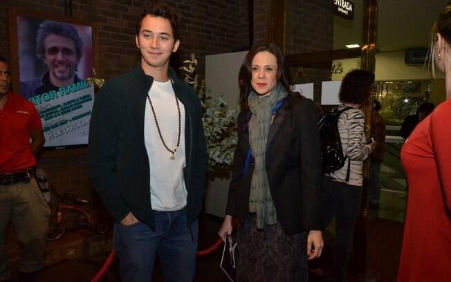 Gabriel Falcão e Vanessa Gerbelli em outubro