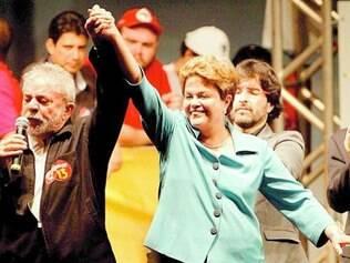 Dilma foi com Lula a Montes Claros e dominou o Norte do Estado