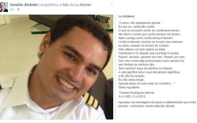 Lu Alckmin posta foto do filho com uma mensagem sobre o amor