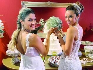 Serviços. Noivas encontram de vestidos a buquês, passando por bufês e serviços de cerimonial