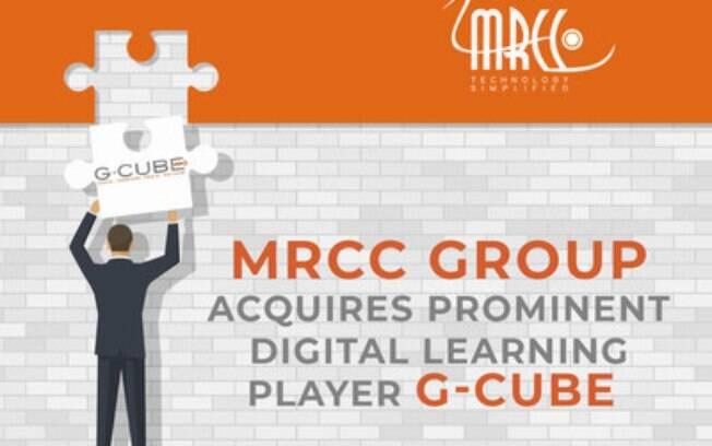 Ampliando sua presença na educação corporativa, o MRCC Group adquire a G-Cube, importante atuante em aprendizagem digital