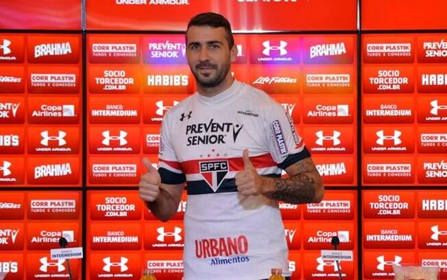 Lucas Pratto trocou o Atlético-MG pelo São Paulo
