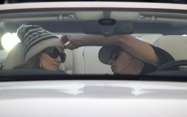 Jennifer Lopez e seu novo namorado