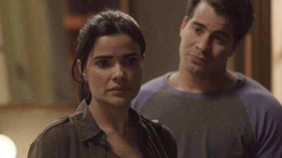 Antônia confronta Júlio na novela das 6