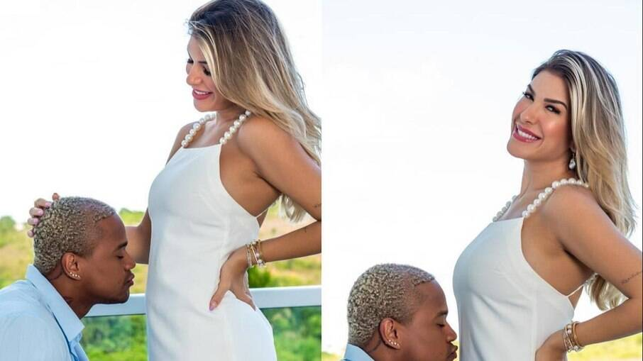 Lore Improta está grávida do cantor Léo Santana