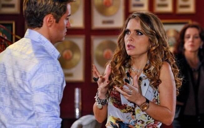 Fabian ameaça Chayene: namoro falso por um fio