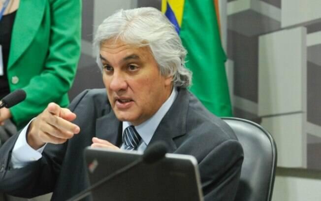 O senador Delcídio Amaral (PT-MS),: segundo reportagem, acordo de delação está certo
