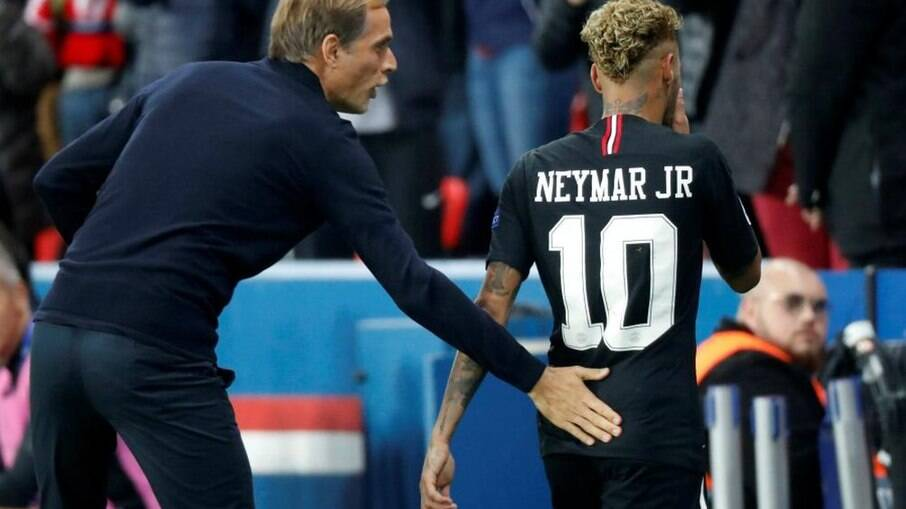 Neymar e Tuchel
