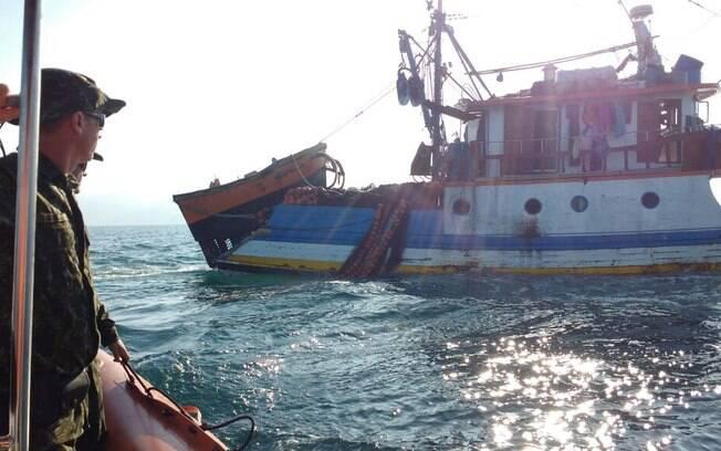 Polícia Militar Ambiental apreendeu 18 toneladas de tainha após flagrar pesca irregular