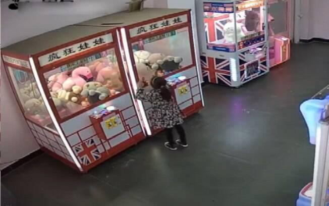 Máquina de brinquedos