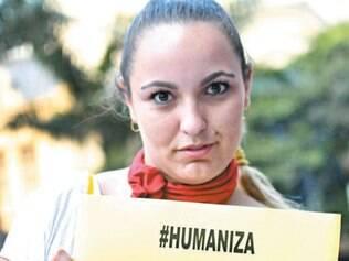 Mulheres protestam em São Paulo pela humanização dos partos